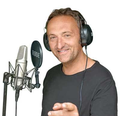 Matthias Ernst Holzmann, professioneller Sprecher