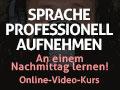 Banner Sprache professionell aufnehmen 120x90