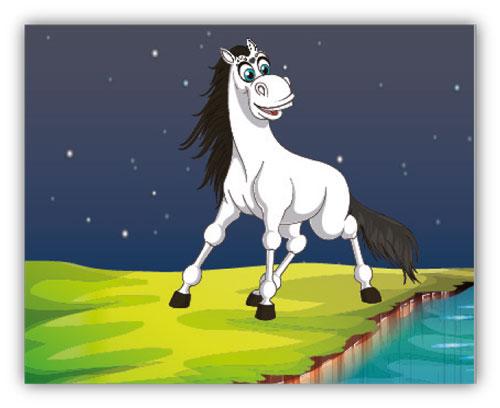 Das Pferdchen Alfonso ist verschwunden - 1