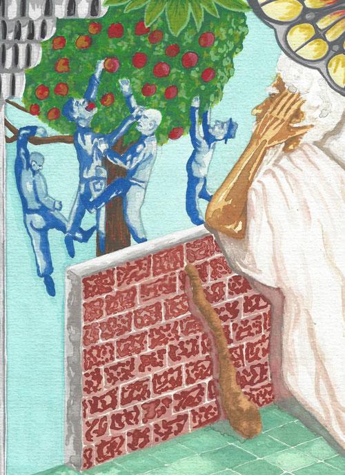 Apfelfresserei